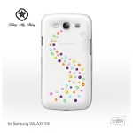 Samsung Galaxy S III - zadn� kryt Bling My thing Milky Way/ Cotton Candy - MADE WITH SWAROVSKI� ELEMENTS