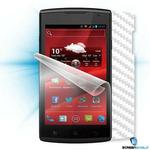 Screenshield fólie na displej + carbon skin (bílá) pro Prestigio MultiPhone PAP 4500 DUO (PRE-PAP4500D-CW)