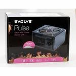 Evolve zdroj 500W PULSE, ATX 2.2, 12cm fan, pas. PFC, 4xSATA, 1x PCIe 6, černý, retail (EP500PP12R)