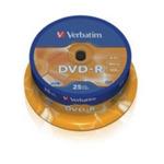 Verbatim 25ks DVD-R 16x / 4.7GB / Pack Spindle (43522)