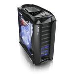 Thermaltake Armor + MX , full tower, black, bez zdroje, ventilátory s LED (VH8000BWS)