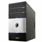 JERSEY Micro-Tower ZYK-Micro, stříbrno-černá, PSU Jersey 400 W (10071)