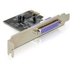 Delock Adaptér PCI Express x1 1x paralelní port + low profile (89219)