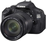 "Canon EOS 600D + EF-S 18-135mm IS / 18 Mpix / CMOS / 3"" LCD"