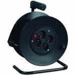 PremiumCord prodlužovací kabel 230V, 25m na bubnu, 4 zásuvky, 1,5mm2 (ppb-01-25)