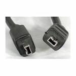 equip FireWire IEEE-1394a 4/4 pin kabel, 1,8m (128070)