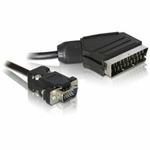 DeLock kabel 2m ze SCART na VGA (65028)