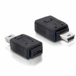 DeLock redukce USB mini samec na USB micro B samice (65155) - Delock 65155