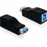 DeLock adaptér USB 3.0-B samice na USB 3.0 A samice (65181)
