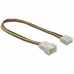 DeLock napájecí kabel pro ventilátor, samec-samice, 4-pinový, délka 20 cm (82429)