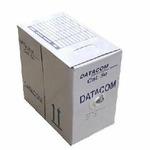 UTP kabel drát, Cat.6, box 305m, PVC (1125) - Datacom 1125 UTP, cat.6, PVC, drát, 305m, šedý