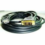Kabel HDMI-DVI 3m, M/M stíněný, zlacené kontakty (KAB051I24)