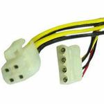 Kabel redukce napájení 1x 5,25 na 1x 4pin P4 konektor (KAB054D84)