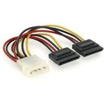 Kabel redukce - rozdvojka napájení 1x 5,25 na 2x SATA (KAB054D88)
