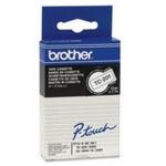 Brother - TC-201 bílá / černá - 1 ks (12mm) (TC201)