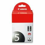 Canon cartridge PGI-5Bk Black TWIN PACK (PGI5BK) (0628B025)