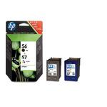 HP C6656A + C6657A Černá + barevná ink. cartridge pro DJ 5550, PS 7x50, 7x60 (SA342AE)