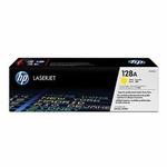 HP CE322A originální toner / CLJ CM1415, CP1525 / 1.300 stran / Žlutý (CE322A)