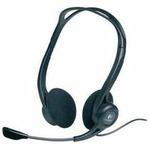 Logitech Headset PC 860 Stereo Headset, stereo sluchátka s mikrofonem (981-000094)
