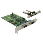 Delock adaptér PCI 4x sériový port (89046)