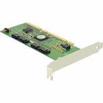 Delock PCI-X řadič S-ATA čtyřkanálový + RAID PCI-x 64-Bit (70127)