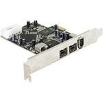 DeLock PCI Express x1 FW A+B 2+1 Port (89153)
