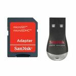 SanDisk MobileMate Duo - adaptér/čtečka pro microSDHC/SD, MS Micro (104337)