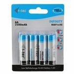 i-Tec nabíjecí baterie AA 2500 mAh INFINITY, 4 ks (AALS2500)