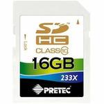 Pretec SDHC karta 233x 16GB Class 10 (PC10SDHC16G)