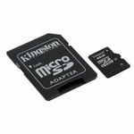 Kingston micro SDHC karta 16GB Class 4 + adapt�r