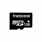 Transcend micro SD karta 1GB bez adaptéru (TS1GUSDC)