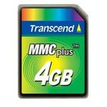 Transcend 4GB High Speed MMC multimedia memory card (TS4GMMC4)