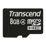 Transcend micro SDHC karta 8GB Class 4 bez adaptéru (TS8GUSDC4)