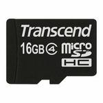 Transcend micro SDHC karta 16GB Class 4 bez adaptéru (TS16GUSDC4)