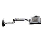 ERGOTRON KEYBOARD ARM,WITH 9 EXTENSION,WALL MOUNT,Polished Aluminum - nástěnný držák pro klávesnici a myš, silver (45-246-026)