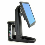 ERGOTRON Neo-Flex® All-In-One SC Lift Stand, Secure Clamp, držák LCD + PC/herní konzole (33-338-085)