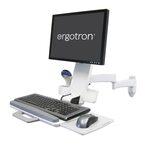 ERGOTRON 200 Series Combo Arm bílý / nástěnný držák na LCD, klávesnici a myš (45-230-216)