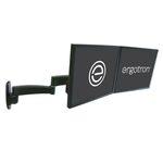 ERGOTRON 200 Series Dual Monitor Arm, nástěnný držák pro 2 LCD,max 22, černý (45-231-200)