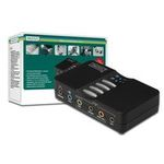 Digitus USB Soundbox, 7.1 channel, for full-duplex recording and play-back (DA-70800)