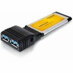 DeLock Express Card 2x USB 3.0. NEC chipset (61753)