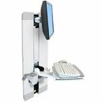 ERGOTRON StyleView® Vertical Lift, Patient Room (bílý), držák na zeď posuvný, monitor, klávesnice ,+ přísl. (60-609-216)