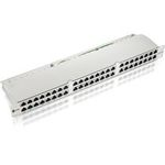 UTP Patchpanel, equip, Cat.6e, 48-Port,black (326448)