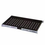 DIGITUS pevná police, rack hl. 1000mm,černá 483x720x50, 100 kg (DN-19 TRAY-1-1000-SW)