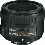 Nikon AF-S FX Nikkor 50mm f/1.8G (JAA015DA)