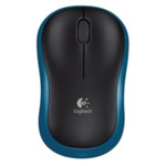 Logitech myš Wireless Mouse M185 Blue, nano, podpora unifying (910-002239)