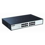 D-Link 16-port 10-100-1000 EasySmart Switch- 16-Port 100BaseTX Auto-Negotiating 10/100/1000Mbps Switch- Fanless (DGS-1100-16)