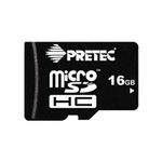 Pretec micro SDHC karta 16GB Class 10 + adaptér (PC10MC16G)