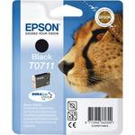 Epson T0711 originální cartridge / 7.4 ml / Černá (C13T07114021)