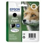Epson T1281 originální cartridge / 5.9 ml / Černá (C13T12814021)