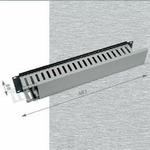 Triton 19 vyvazov. panel 2U jednostranná plast. lišta BK (RAX-VP-X04-A1)